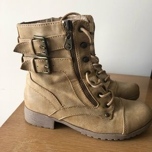 Guess women's Combat Boots